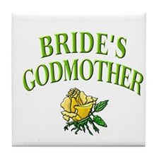 Bride's Godmother(rose) Tile Coaster