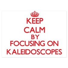 Keep Calm by focusing on Kaleidoscopes Invitations