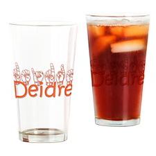 Deidre Drinking Glass