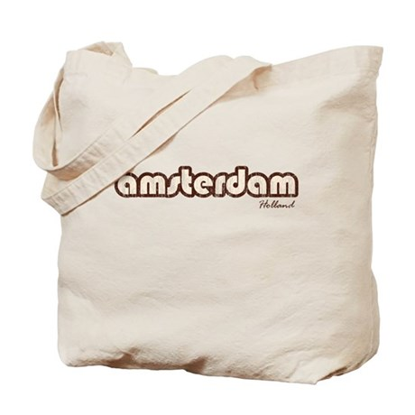 Amsterdam Holland (Vintage) Tote Bag