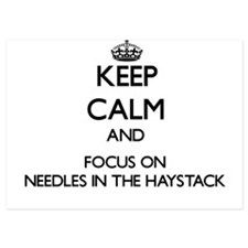 Keep Calm by focusing on Needles In Th Invitations