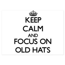 Keep Calm by focusing on Old Hats Invitations