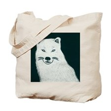 Artic wolf Tote Bag