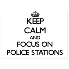 Keep Calm by focusing on Police Statio Invitations