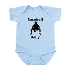 Baseball Baby Body Suit
