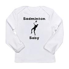 Badminton Baby Long Sleeve T-Shirt