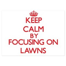 Keep Calm by focusing on Lawns Invitations