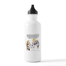 Cowboy Card Games Water Bottle