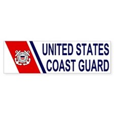 U. S. Coast Guard <BR>Bumper Bumper Sticker