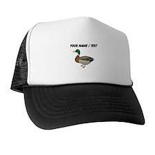 Custom Mallard Duck Trucker Hat