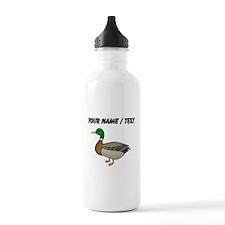 Custom Mallard Duck Water Bottle