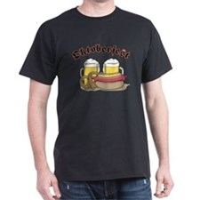 Oktoberfest Brats, Beer  Pretzels T-Shirt