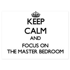 Keep Calm by focusing on The Master Be Invitations