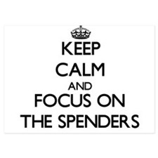 Keep Calm by focusing on The Spenders Invitations