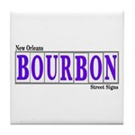 Bourbon Street Tile Coaster