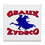 Geaux Zydeco Tile Coaster