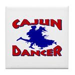 Cajun Dancer Tile Coaster