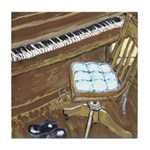 Piano and Chair Tile Coaster