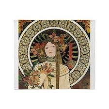 Vintage Art Nouveau Alfonse Mucha Trappistine Post
