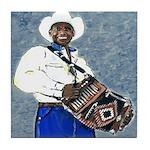 Zydeco Music Tile Coaster