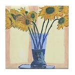 Sunflowers Tile Coaster