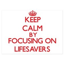 Keep Calm by focusing on Lifesavers Invitations
