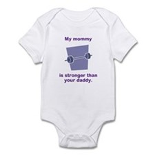 Mommy Is Stronger Body Suit