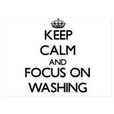 Keep Calm by focusing on Washing Invitations