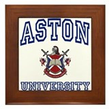 ASTON University Framed Tile