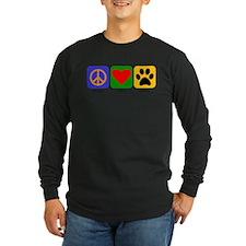 Peace Love Portie Long Sleeve T-Shirt