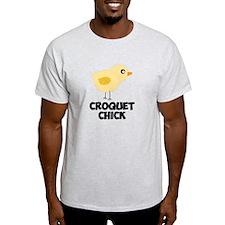 Croquet Chick T-Shirt