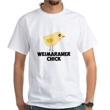 Weimaraner Chick T-Shirt