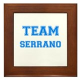 TEAM SERRANO Framed Tile