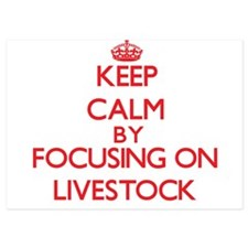 Keep Calm by focusing on Livestock Invitations