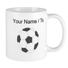 Custom Soccer Ball Mugs