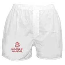 Keep Calm by focusing on Longitude Boxer Shorts