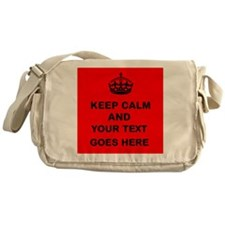 Keep calm and Your Text Messenger Bag