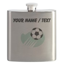 Custom Flying Soccer Ball Flask