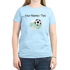 Custom Flying Soccer Ball T-Shirt