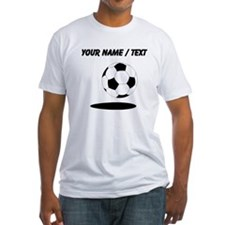 Custom Soccer Ball With Shadow T-Shirt