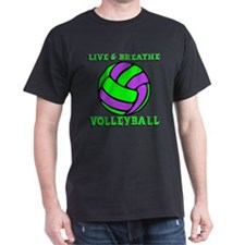 LIVE, BREATHE VB T-Shirt