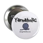 Yarnaholic Button
