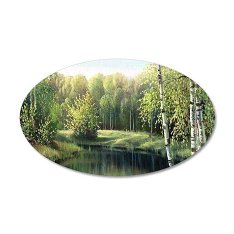 Woodland Painting Wall Decal