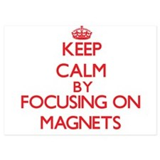 Keep Calm by focusing on Magnets Invitations