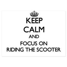 Keep Calm by focusing on Riding The Sc Invitations