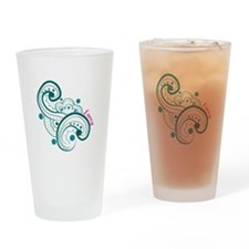 Lacey Swirl Drinking Glass