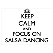 Keep Calm by focusing on Salsa Dancing Invitations