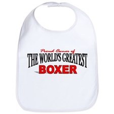 """The World's Greatest Boxer"" Bib"