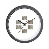 a life of a hamster. Wall Clock