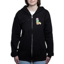 French Macaron Women's Zip Hoodie